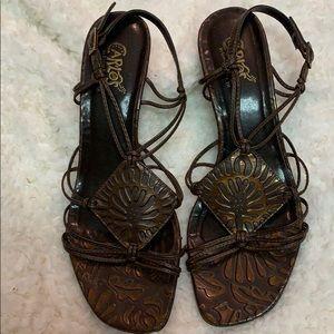 Carlos Brown Sandals